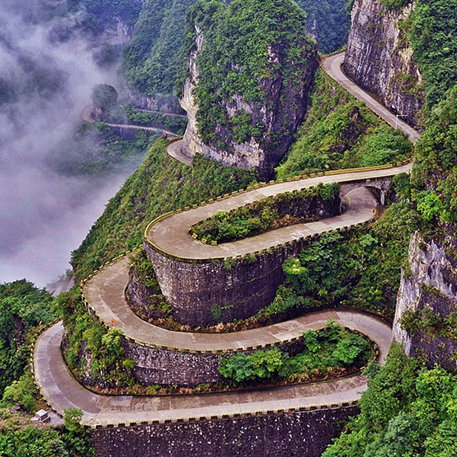 99 Turns of Tianmen Mountains